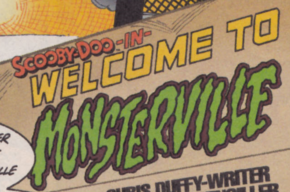 Welcome to Monsterville title card