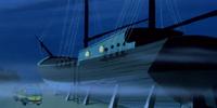 Ebenezer Shark's boat home