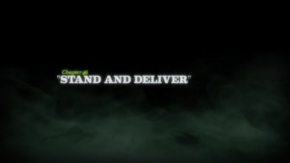 Stand and Deliver title card