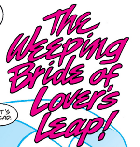 The Weeping Bride of Lover's Leap title card
