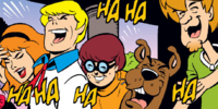 Mystery Inc. impostors (DC's Double Trouble)