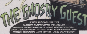 The Ghostly Guest title card
