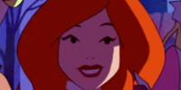 Crystal Cove citizen (Pebbles Flintstone lookalike)