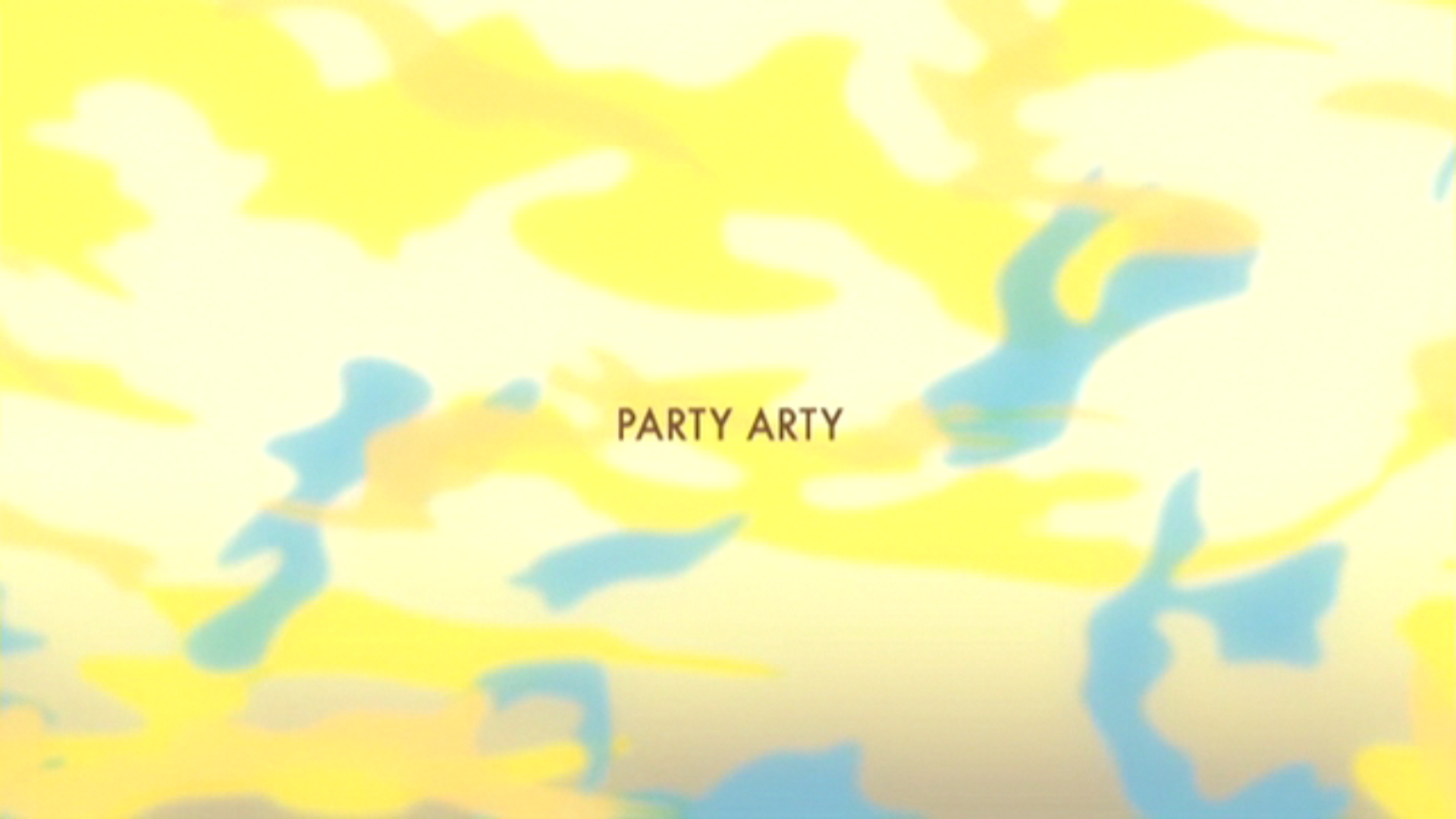 Party Arty title card