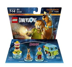 71206 Scooby-Doo! Team Pack (boxed)