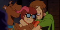 Scooby-Doo, Shaggy Rogers, and Velma Dinkley