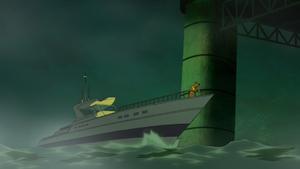 Barty Blake's boat