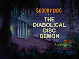 The Diabolical Disc Demon title card