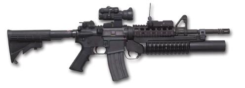 M4A1 M203