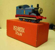 Red box train thomas