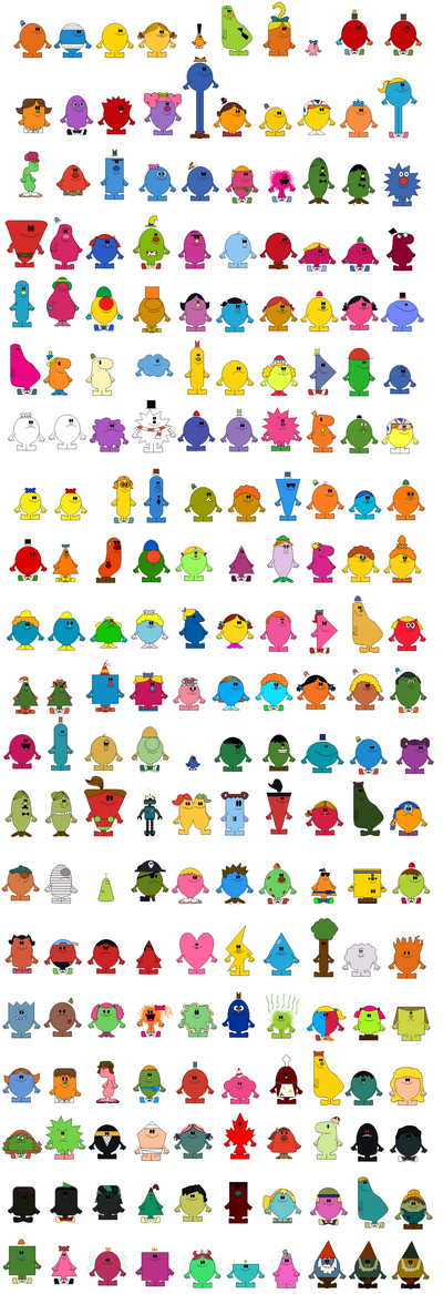 Mr men show by tdialex11-d2wt4m3