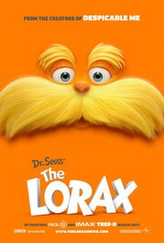 2012 - The Lorax Movie Poster