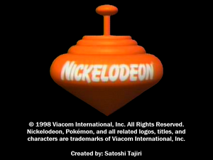 Nickelodeon Logo From i choose you pikachu