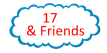 17 and Friends Logo