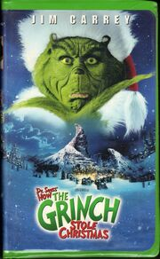 How the grinch stole christmas 2001 vhs