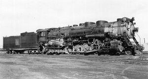 Recent Losses -- Steam Locomotives Scrapped Since 1959 - Chicago, Burlington & Quincy 2-10-4 6315