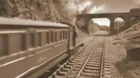 Thomas and Bertie's Great Race (in Sepia Tone)