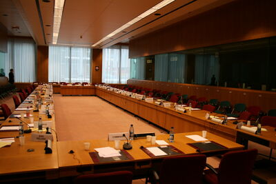 Meeting room for working groups