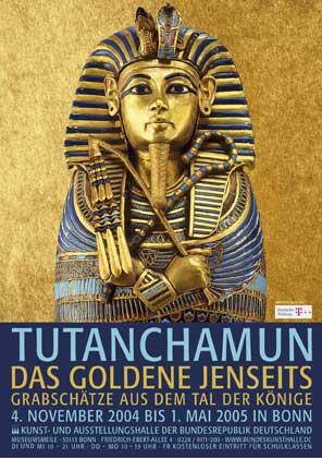 Tutanchamun Plakat Bonn 2005 300