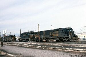 '5371 Rides the Rails'