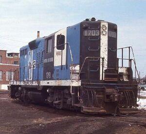 Pan Am Railways - Clops III - 1150PM - Suspect on Rampage BM45
