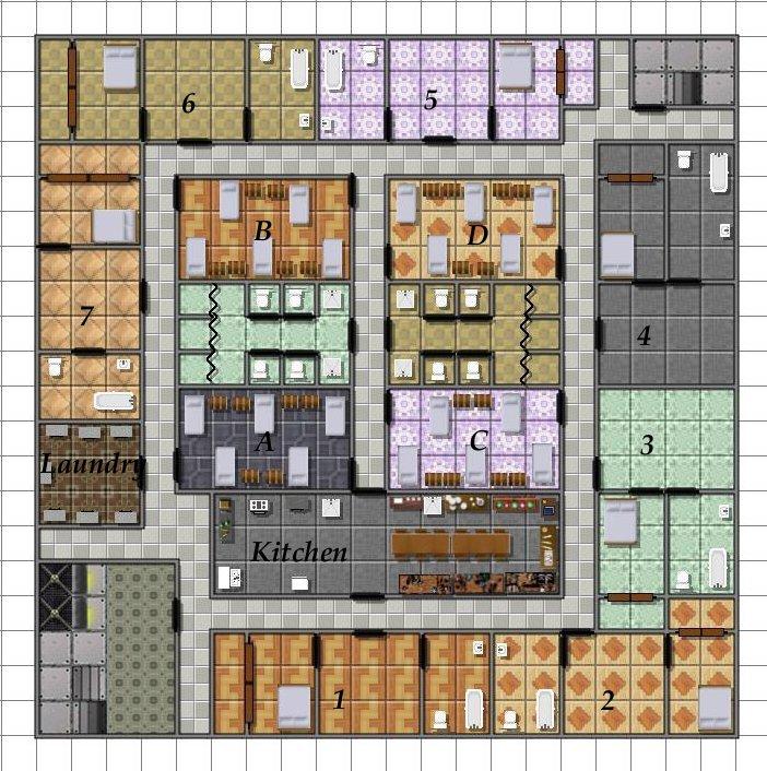 Caern Living Quarters