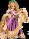 Rapunzel pose