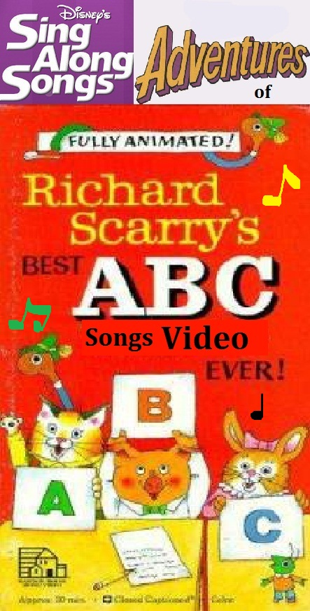 disney 39 s sing along songs adventures of richard scarry 39 s best abc songs video ever scratchpad. Black Bedroom Furniture Sets. Home Design Ideas