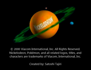 Nickelodeon Logo From The Final Badge