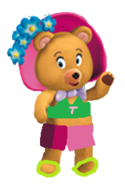 Tessie bear campside