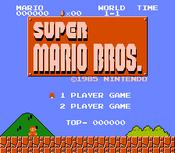 Super Mario Bros Screenshot 1