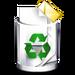 Crystal Clear filesystem trashcan full