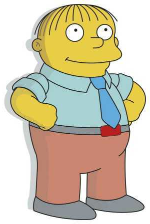 Ralph Wiggum at Scratchpad, the home of unlimited fan-fiction mini-