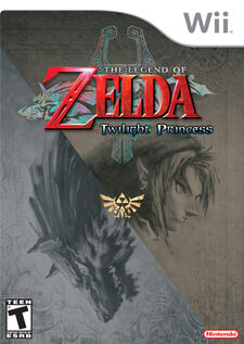 Legend of Zelda Twilight Princess (Cover)