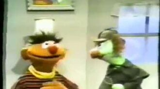 Classic Sesame Street Sherlock Hemlock Breaks Ernie's Window