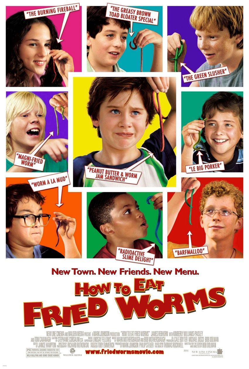 2006  How To Eat Fried Worms Movie Poster