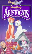 The Aristocats on VHS