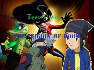 Teen Titans Vs Legion of Doom