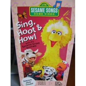 Sesame Street Sing Hoot And Howl Vhs Opening To Sesame Song...
