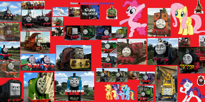 Thomas & Twilight Sparkle's Adventures in Elmopalooza