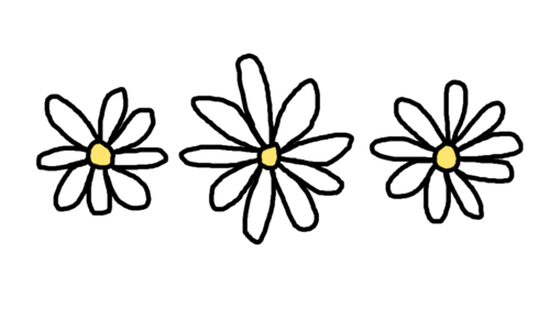 Image - Tumblr static tumblr static ... Transparent Black And White Flowers Tumblr