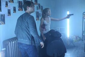Emma, Kieran and Ghostface?