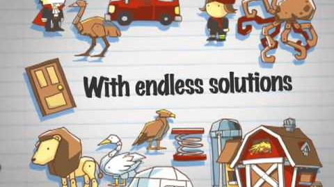 Scribblenaughts Everything Trailer