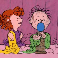 Todd als Freida und Ted als