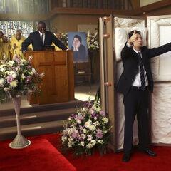 J.D.'s funeral