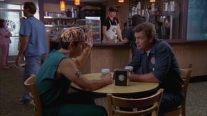 8x16 Janitor Todd at Coffee Bucks