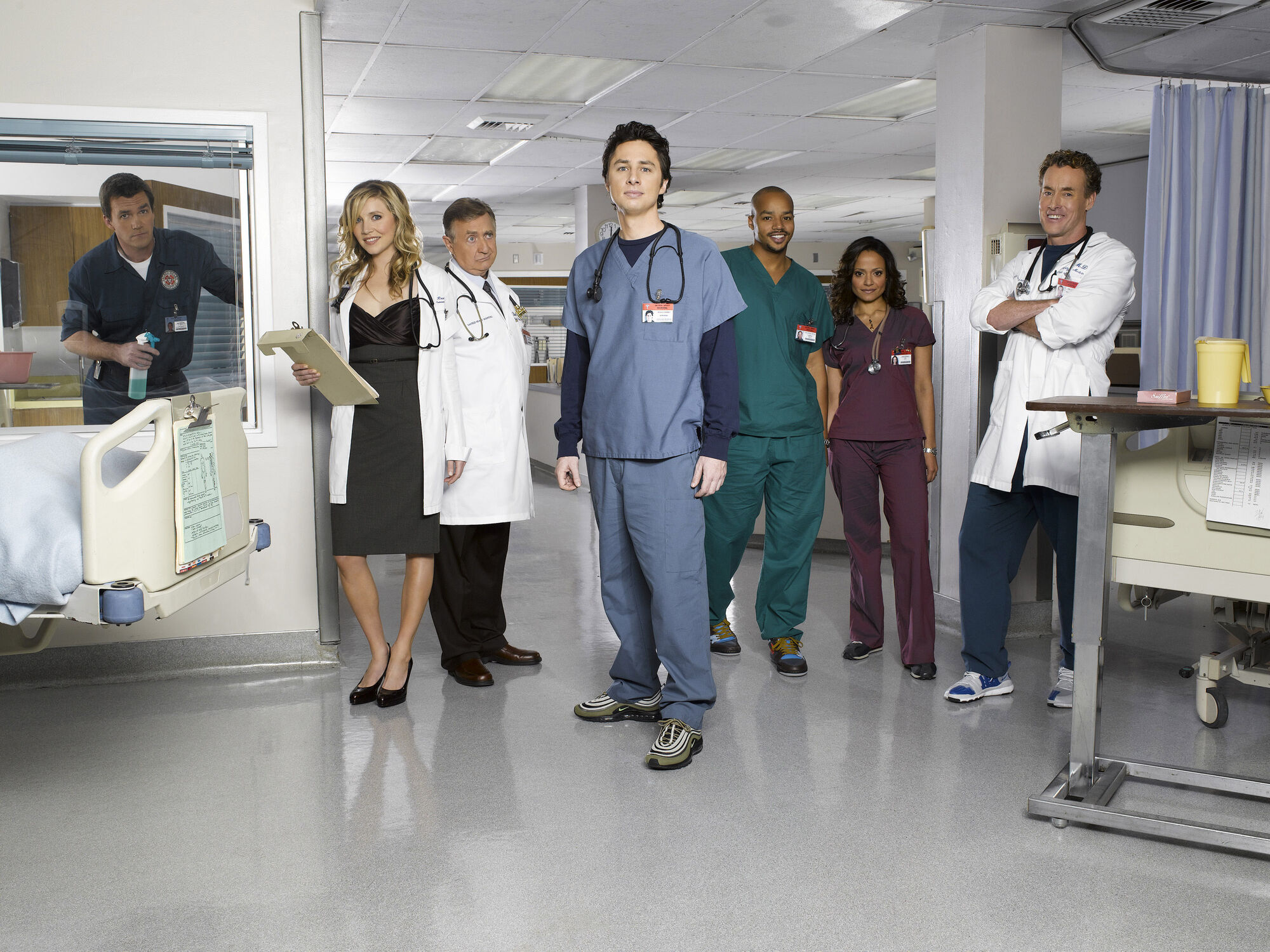 Scrubs images Scrubs Cast HD wallpaper and background photos (34321)