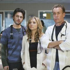 J.D., Cox, and Elliot