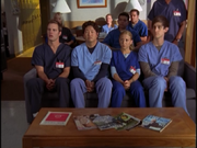 5x2 interns on couch