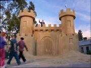 5x13 Janitors sandcastle